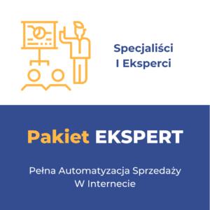 Pakiet EKSPERT - Specjaliści i Eksperci