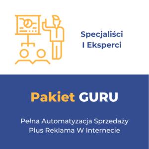 Pakiet GURU - Specjaliści i Eksperci