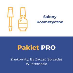 Pakiet PRO - Salony Kosmetyczne