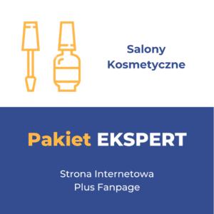 Pakiet EKSPERT - Salony Kosmetyczne