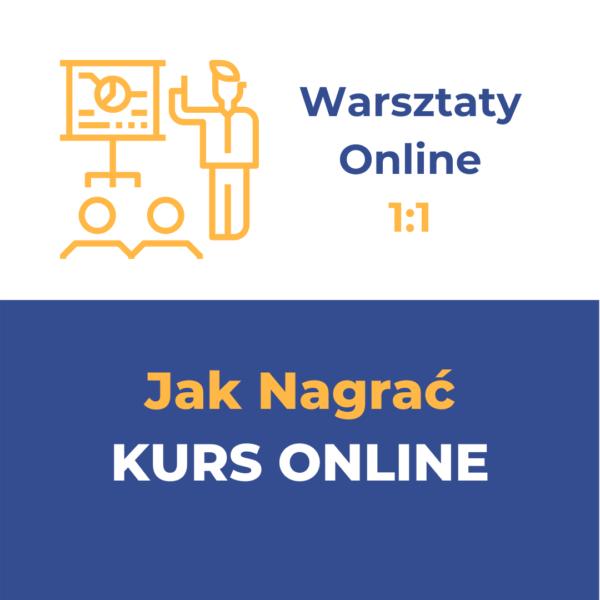 Nagraj swój własny kurs online